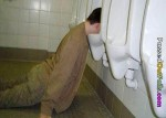 urinal face plant